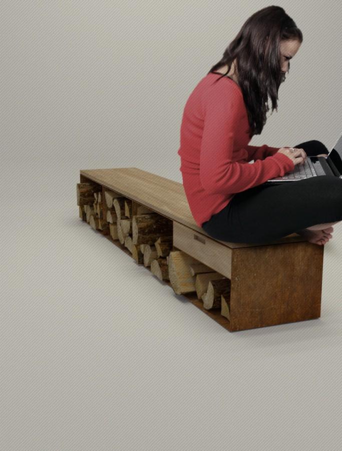 Metall Lowboard design Stahl Sideboard mit Eiche in Rostoptik Metall Lowboard