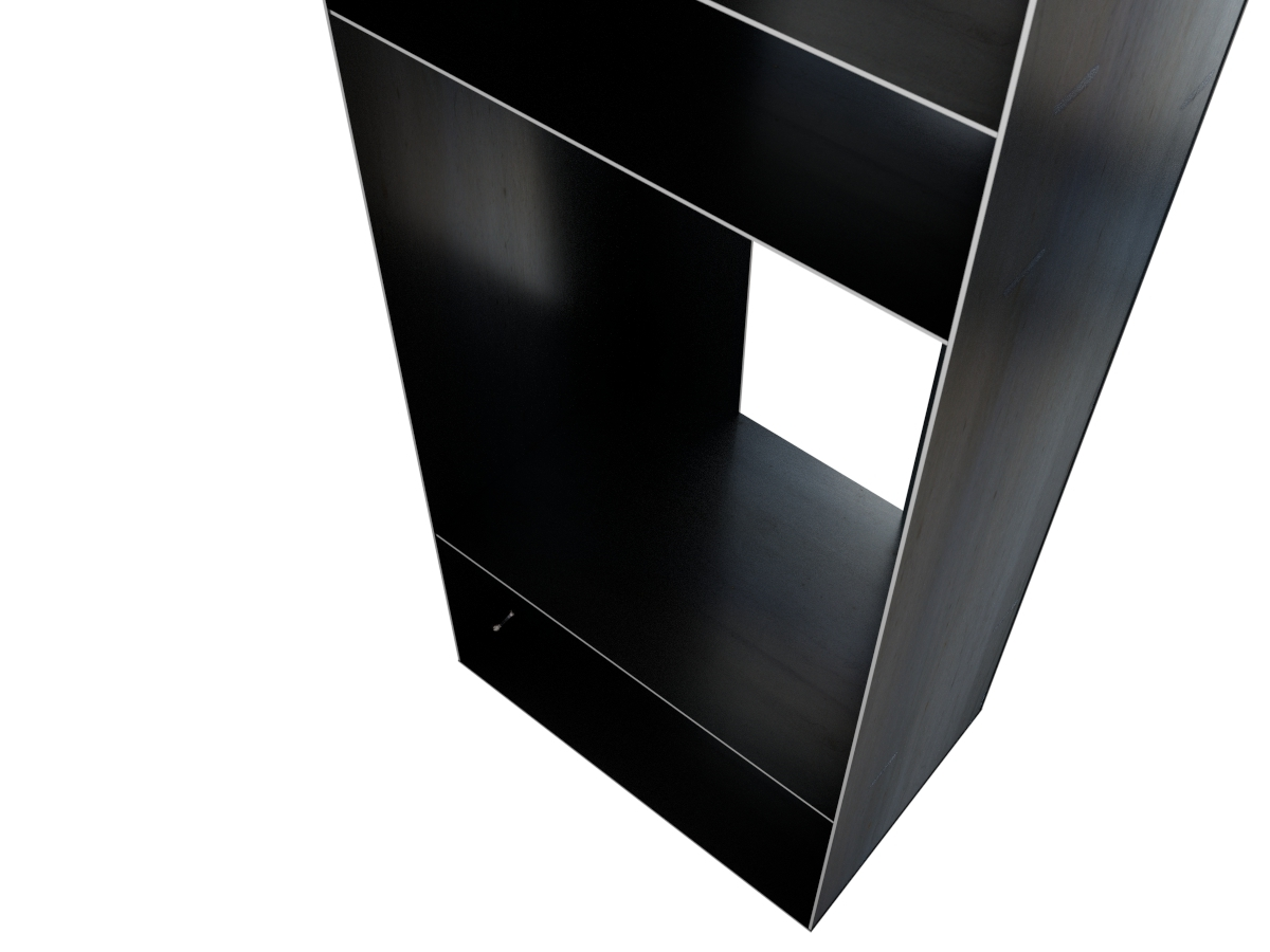 gro es metallregal f r kaminholz. Black Bedroom Furniture Sets. Home Design Ideas