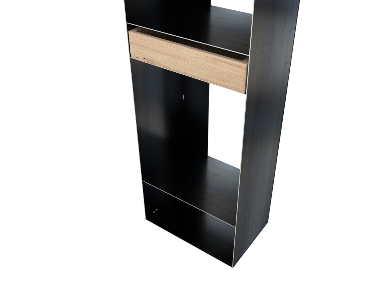 gro es kaminholzregal rohstahl. Black Bedroom Furniture Sets. Home Design Ideas