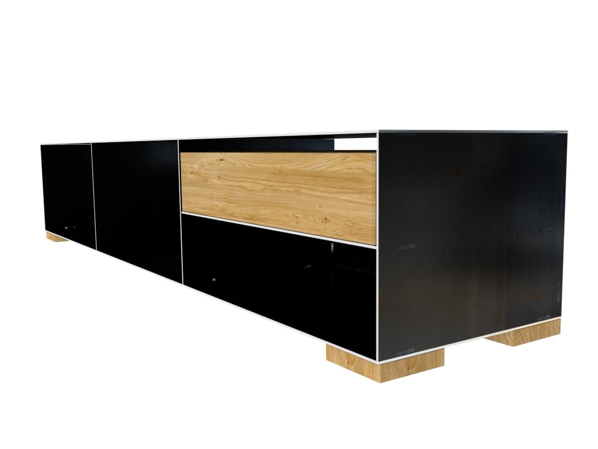 metall sideboard lowboard modern. Black Bedroom Furniture Sets. Home Design Ideas