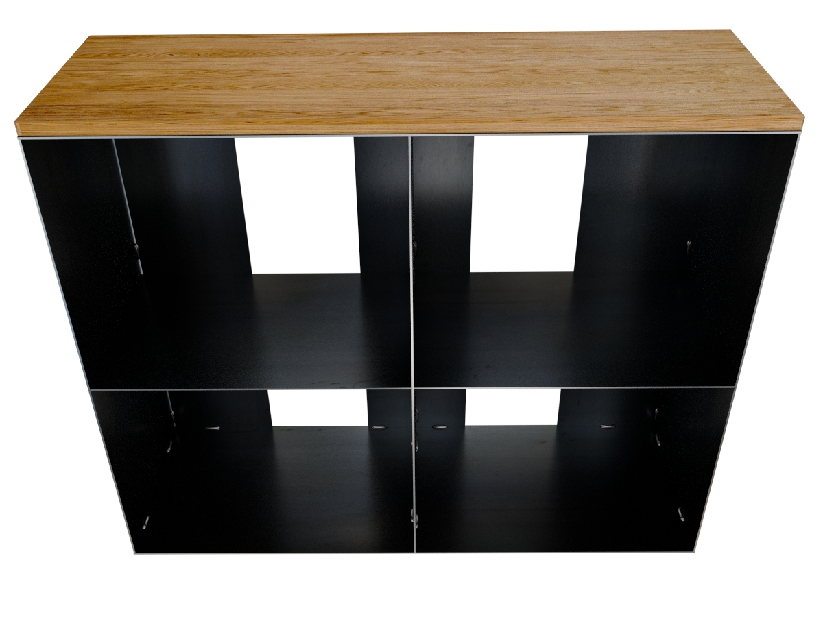 gro es kaminholregal innen metall. Black Bedroom Furniture Sets. Home Design Ideas