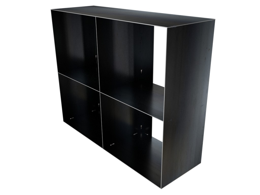 gro es kaminholzregal metall. Black Bedroom Furniture Sets. Home Design Ideas