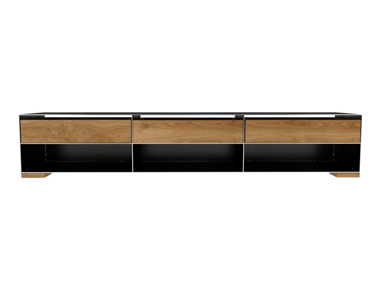 Design Sideboard Minimalistisch Und Modern Aus Metall Mit Massivholz