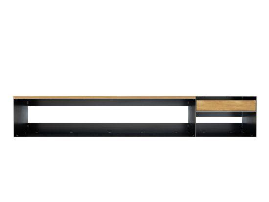 Design Sideboard Eisen mit Holz